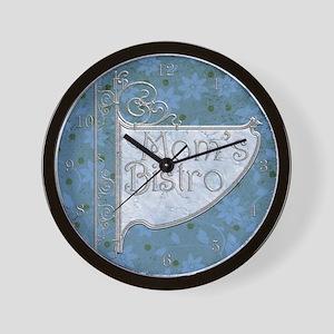 Harvest Moons Mom's Bistro Wall Clock