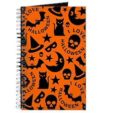 I Love Halloween Journal