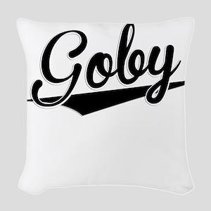 Goby, Retro, Woven Throw Pillow