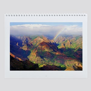 Waimea Canyon Kauai Hawaii Wall Calendar