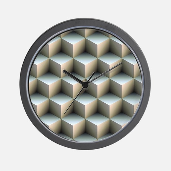 Ambient Cubes Wall Clock