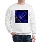 Jazz Blue on Blue Sweatshirt
