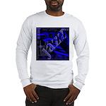 Jazz Blue on Blue Long Sleeve T-Shirt