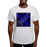 Jazz Blue on Blue Light T-Shirt