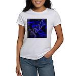 Jazz Blue on Blue Women's T-Shirt