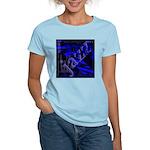 Jazz Blue on Blue Women's Light T-Shirt