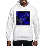 Jazz Blue on Blue Hooded Sweatshirt