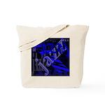 Jazz Blue on Blue Tote Bag