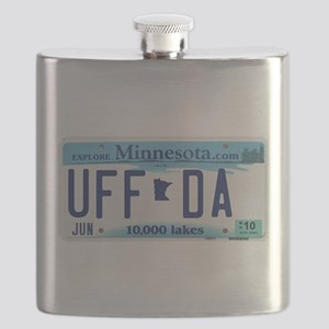 "Minnesota ""Uffda"" Flask"