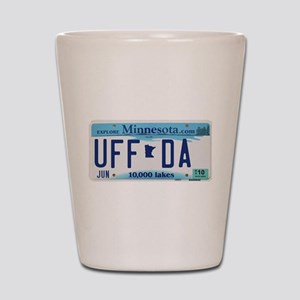 "Minnesota ""Uffda"" Shot Glass"