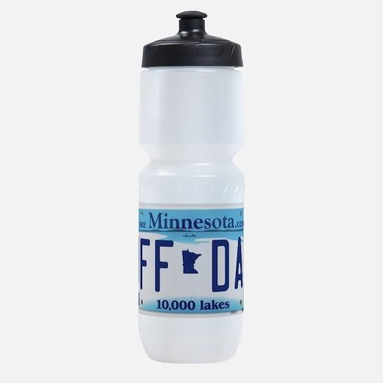 "Minnesota ""Uffda"" Sports Bottle"