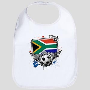 Soccer fans SouthAfrica Bib