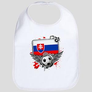 Soccer fans Slovakia Bib