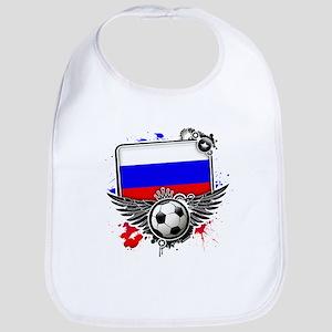 Soccer fans Russia Bib