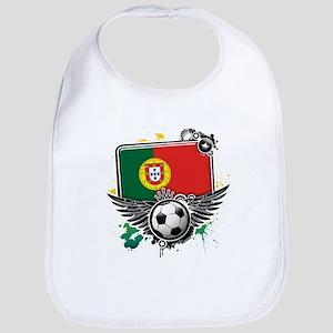 Soccer fans Portugal Bib