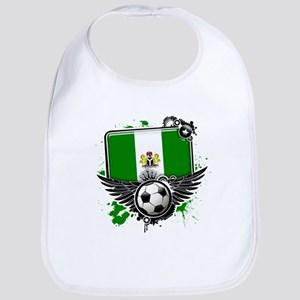 Soccer fans Nigeria Bib