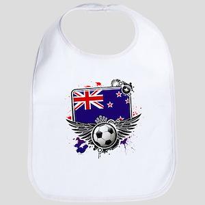 Soccer fans NewZealand Bib