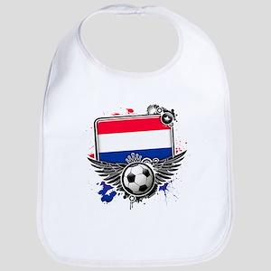 Soccer fans Netherlands Bib