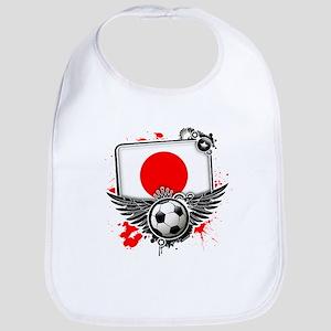 Soccer fans Japan Bib
