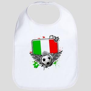 Soccer fans Italy Bib