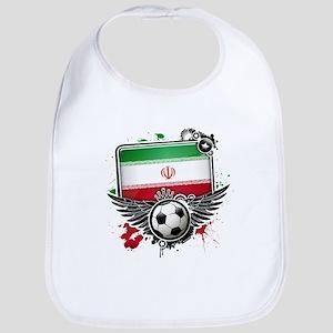 Soccer fans Iran Bib