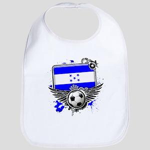 Soccer fans Honduras Bib