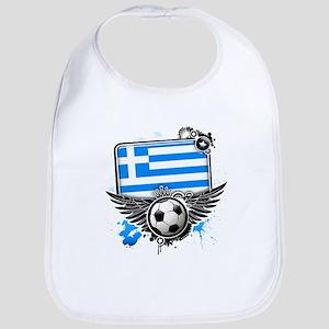 Soccer fans Greece Bib