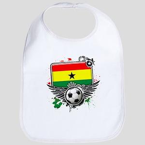 Soccer fans Ghana Bib