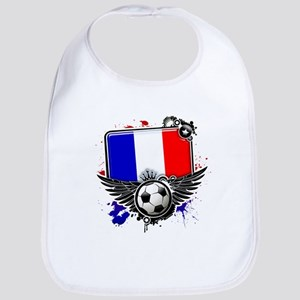 Soccer fans France Bib