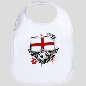 Soccer fans England Bib