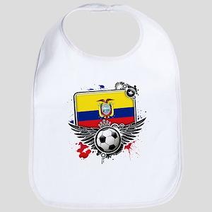 Soccer fans Ecuador Bib
