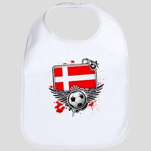 Soccer fans Denmark Bib