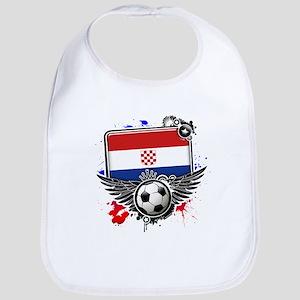 Soccer fans Croatia Bib