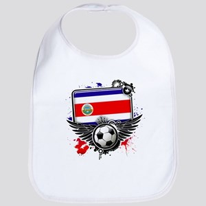 Soccer fans Costa Rica Bib