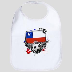 Soccer fans Chile Bib