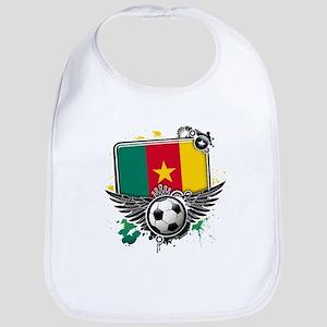 Soccer fans Cameroon Bib