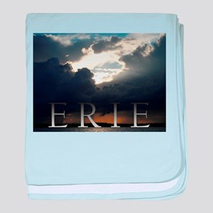 Erie Rain Clouds baby blanket