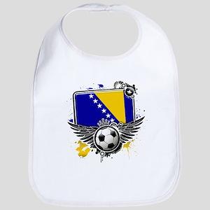 Soccer fans Bosnia Bib