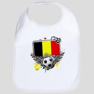 Soccer fans Belgium Bib