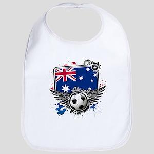 Soccer fans Australia Bib