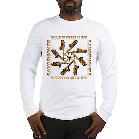 Saxophone Flower Shirts and G Long Sleeve T-Shirt