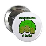 100 Pack - Turtle Love Buttons