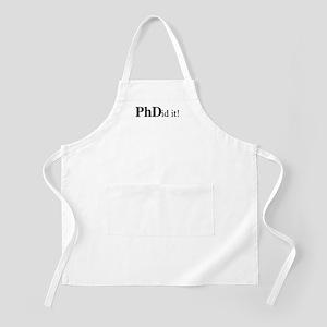 PhDid It! PhD Apron