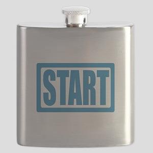 Start (Blue) Flask
