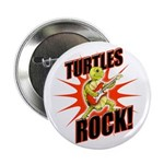 10 Pack - Turtles Rock Buttons