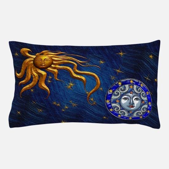 Harvest Moons Sun & Moon Pillow Case