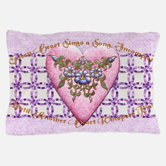 Harvest Moons Double Wedding Rings Pillow Case