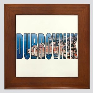 Dubrovnik Framed Tile