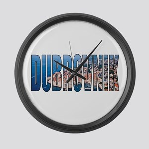 Dubrovnik Large Wall Clock