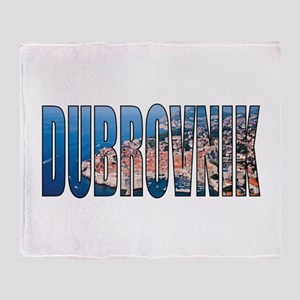 Dubrovnik Throw Blanket